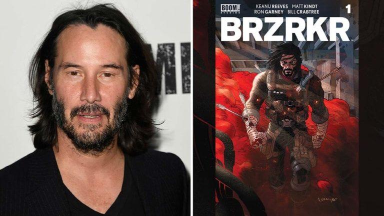 Keanu Reevesov strip 'BRZRKR' postaje film i anime serija na Netflixu