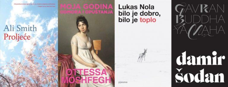 Novi naslovi u izdanju Vuković&Runjić: dva romana i dvije zbirke poezije